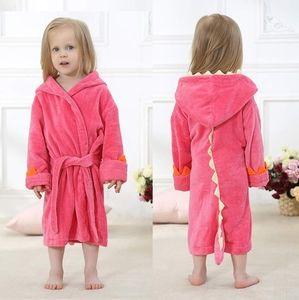 Other - Pink Dinosaur Bathrobe Robe 3T - 5T